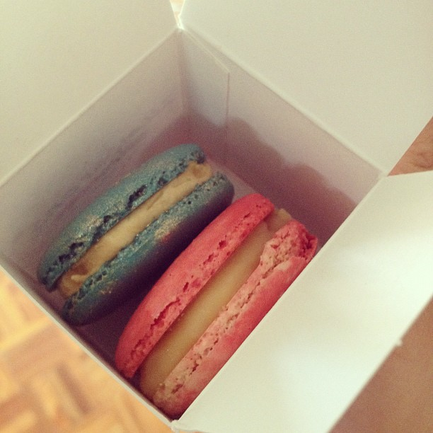 Adriano Zumbo's famous  macarons... no big deal